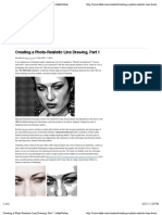 Creating a Photo-Realistic Line Drawing, Part 1   DekeOnline