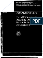 Racial Differences in Disability Decisions 4-92