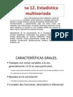 Estadistica Multivariada