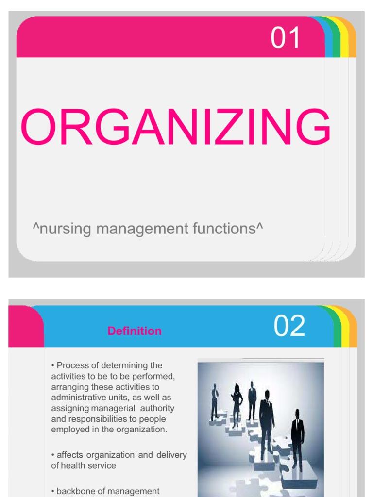 organizing function of management sephora