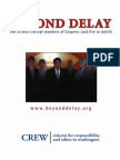 CREW's Most Corrupt Report 2006 - Beyond Delay
