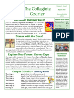 The Collegiate Courier - August 2011