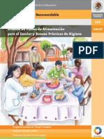 Diseños de Planes de Alimentación para el Escolar y Buenas Prácticas de Higiene