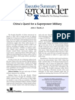 China's Quest for a Superpower Military