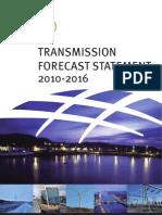 EirGrid Transmission Forecast Statement 20102016