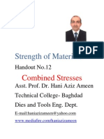Strength of Materials- Combined Stresses- Hani Aziz Ameen