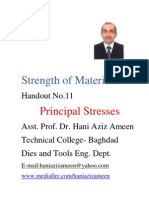 Strength of Materials- Principal Stresses- Hani Aziz Ameen
