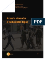 HR Monitoring Report Right to Access Information