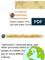 Cross Cultural Org Communication