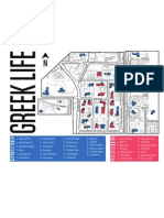 Mizzou Greek Housing Map