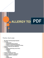 08.01.2011 Allergy Topics