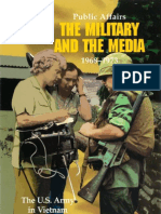 Public Afffairs the Military and the Media, 1968-1973