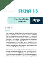 Ficha 15 - Una Gran Mision Continental
