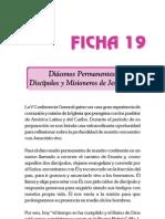 Ficha 19 - Diaconos
