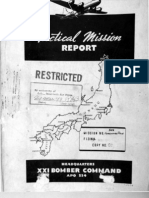21st Bomber Command Tactical Mission Report 177etc, Ocr