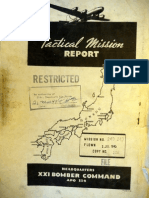 21st Bomber Command Tactical Mission Report 240, 243, Ocr