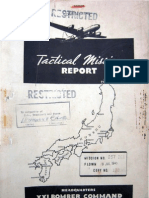 21st Bomber Command Tactical Mission Report 257 and 261, Ocr
