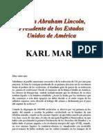 Carta a Abraham Lincoln