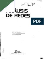 Analisis de Redes (M. E. Van Valkenburg), Editorial Limusa
