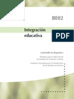 BE02 INTEGRACION EDUCATIVA