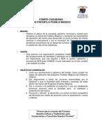 Pueblo Magico Plan de Trabajo 2011-2012