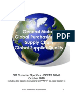 GM Customer Specifics Oct10