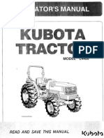 Kubota L4400 Operator Manual