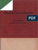 Explosionsmomente - Dr. Langhans 1936