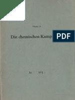 Thema 15 - Die Chemischen  Kampfstoffe - Lehrmaterial für DRK Lehrkräfte - DDR
