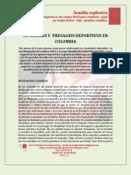DE SEÑALES Y  PRESAGIOS DEPORTIVOS EN COLOMBIA-MARIO URREGO-18-07-11