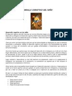 3.- DESARROLLO COGNITIVO DEL NIÑO