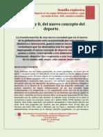 El a,b,c y d, Del Deporte. MARIO URREGO. 29-07-11