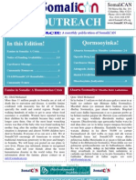 SomaliCAN Outreach Newsletter August 2011