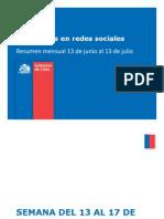 Fundación accedió y publicó informe de monitoreo de redes sociales realizado por el Gobierno