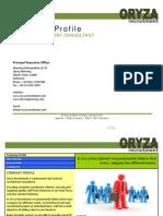Oryza Recruitment Company Profile