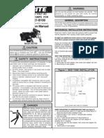 Biodiesel Pump - 115V - 20 GPM