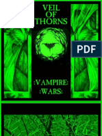 Veil of Thorns - Vampire Wars (2011) Booklet