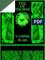 Veil of Thorns - Vampire Wars (2011) Booklet