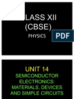 14. XII Physics_Unit 14 - Semi Conductors