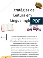 Estratégias de Leitura -  Sabrine