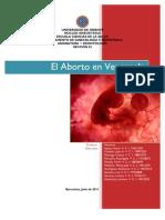 El Aborto en Venezuela