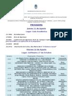 Programa Congreso Ciencias Economic As