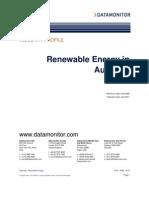 Renewable Energy Asia-Pacific Data Monitor