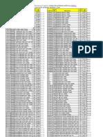 Planilha Atualizada de Seletivos Agosto 2011