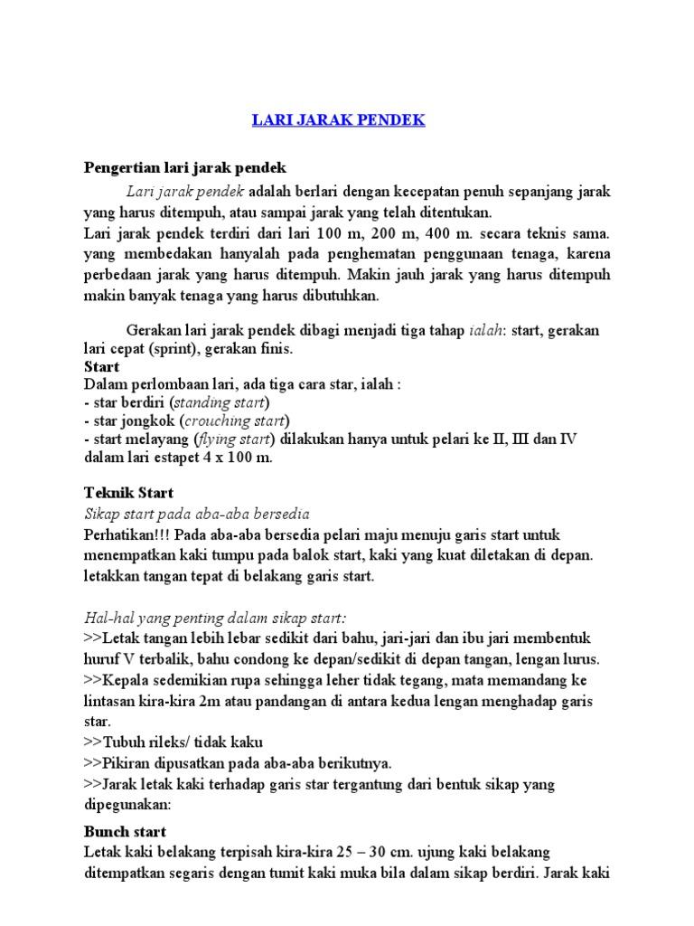 Lari Jarak Pendek Copy