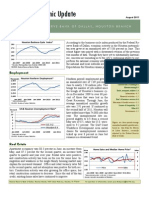 FRB Houston Economic Update August 2011
