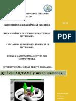 Que Es CAD CAM y Sus Aplicaciones