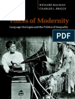 BaumanBriggs-Voices of Modernity