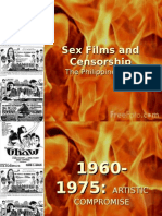 Sex Films and Censorship
