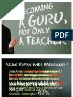 Becoming a Guru, Not Only a Teacher 2
